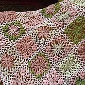 Аксессуары ручной работы. Ярмарка Мастеров - ручная работа Шаль Яблоневый цвет. Handmade.
