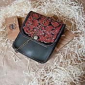 Сумки и аксессуары handmade. Livemaster - original item Leather handbag embossed women`s handbag buy. Handmade.