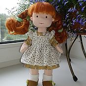 Куклы и пупсы ручной работы. Ярмарка Мастеров - ручная работа Кукла: Рыжуля. Handmade.