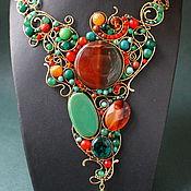 Украшения handmade. Livemaster - original item Necklace Vignette. Handmade.