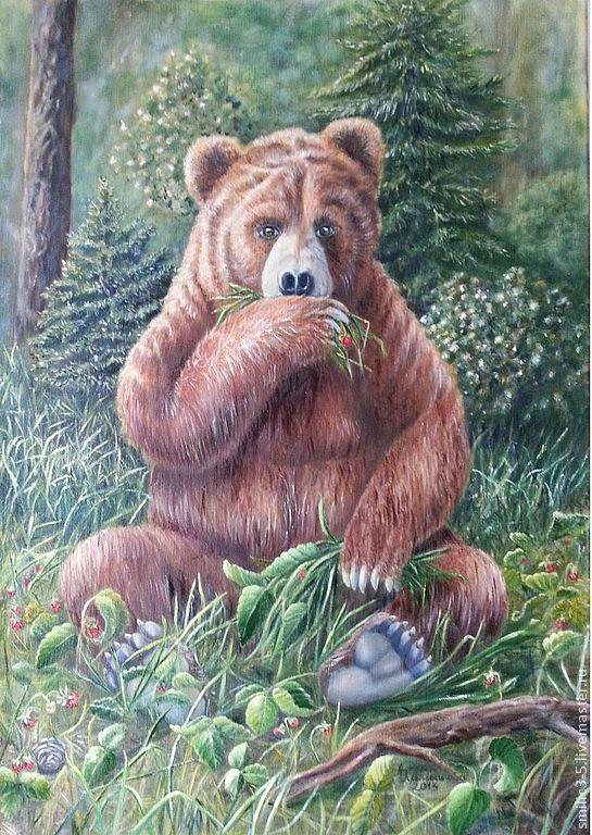 описание, медведь масло картинки нужно