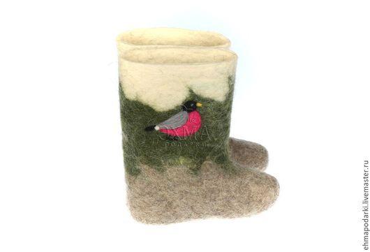 Обувь ручной работы. Ярмарка Мастеров - ручная работа. Купить Детские валенки. Handmade. Детские валенки, дизайнерские валенки, войлок