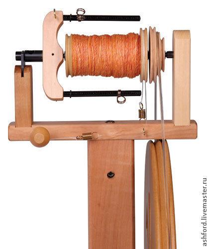 Другие виды рукоделия ручной работы. Ярмарка Мастеров - ручная работа. Купить Флайер + бобина для прялки Киви. Handmade.