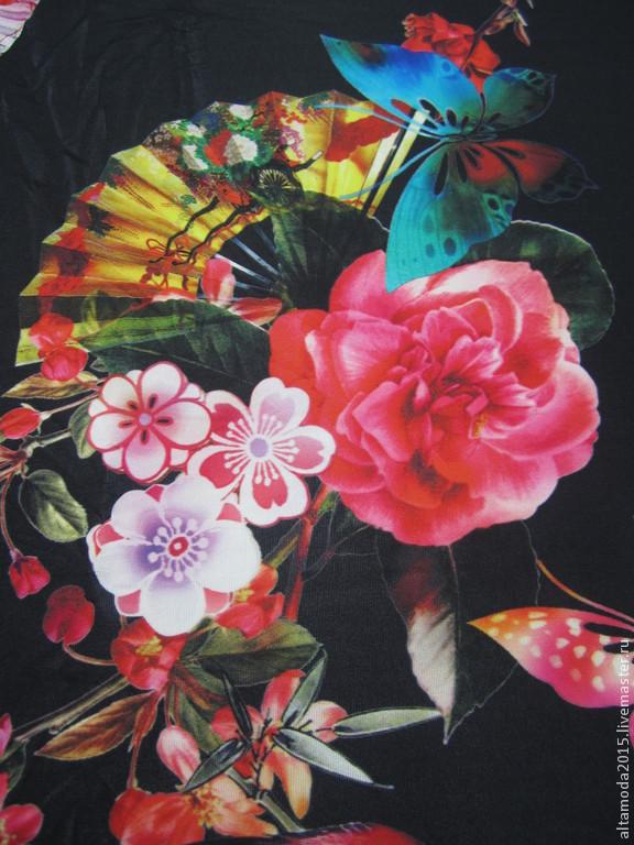 96f66030b989 Шитье ручной работы. Ярмарка Мастеров - ручная работа. Купить Трикотаж Dolce  & Gabbana 2015 ...