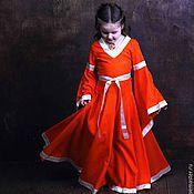 """Работы для детей, ручной работы. Ярмарка Мастеров - ручная работа Эльфийское платье """"Сердолик"""". Handmade."""