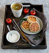 Посуда handmade. Livemaster - original item A tray of Breakfast from the dark ash. Handmade.