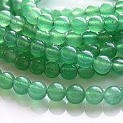 Материалы для творчества handmade. Livemaster - original item jade beads 6 mm. Handmade.