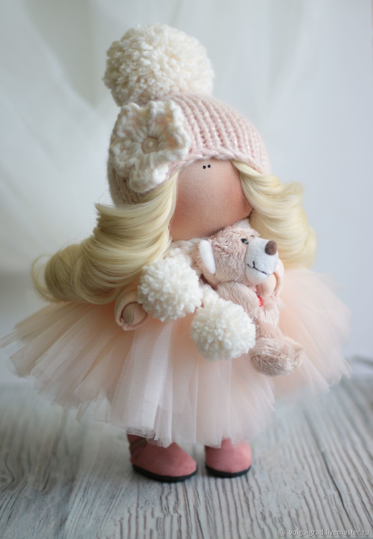 Textile doll, Round Head Doll, Volgograd,  Фото №1