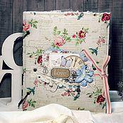 Подарки к праздникам handmade. Livemaster - original item scrapbook wedding or a romantic album