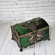 Для дома и интерьера handmade. Livemaster - original item Jewelry boxes:Magic Chest 2. Handmade.