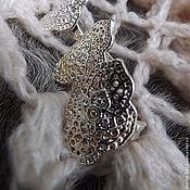 Украшения handmade. Livemaster - original item Silver women`s ring