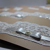 """Свадебный салон ручной работы. Ярмарка Мастеров - ручная работа Приглашения """"Винтаж"""". Handmade."""