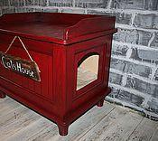Для домашних животных, handmade. Livemaster - original item Cats house. Handmade.