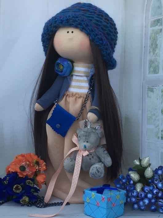 Куклы тыквоголовки ручной работы. Ярмарка Мастеров - ручная работа. Купить Интерьерная текстильная кукла. Handmade. Кукла ручной работы