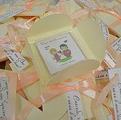 Сувениры и подарки ручной работы. Ярмарка Мастеров - ручная работа Магниты на праздник в коробочке с пожеланиями. Handmade.