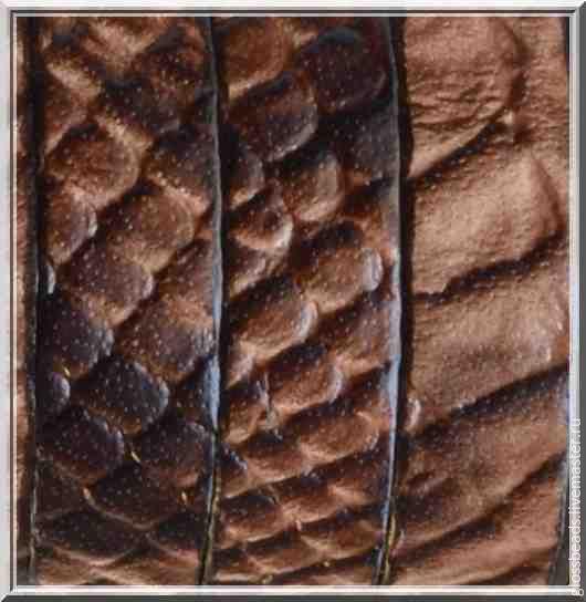 Для украшений ручной работы. Ярмарка Мастеров - ручная работа. Купить Кожаный шнур  плоский для браслета. Handmade. Натуральная кожа