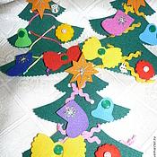 Куклы и игрушки ручной работы. Ярмарка Мастеров - ручная работа Ёлочка-шнуровка. Handmade.