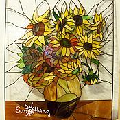 Для дома и интерьера handmade. Livemaster - original item Stained Glass