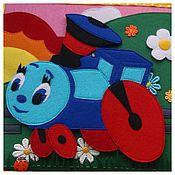 Куклы и игрушки ручной работы. Ярмарка Мастеров - ручная работа Развивающая книга из фетра. Handmade.