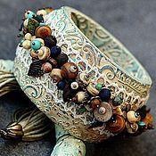 Украшения ручной работы. Ярмарка Мастеров - ручная работа браслет из полимерной глины умей мечтать. Handmade.