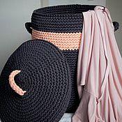 Для дома и интерьера ручной работы. Ярмарка Мастеров - ручная работа Бак для белья. Handmade.