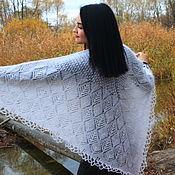 handmade. Livemaster - original item Shawls: Haruni down shawl