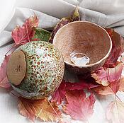 """Посуда ручной работы. Ярмарка Мастеров - ручная работа Пиалы """"Мхи"""". Handmade."""