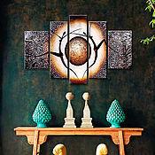 """Картины и панно ручной работы. Ярмарка Мастеров - ручная работа Картина """"Африка"""". Handmade."""