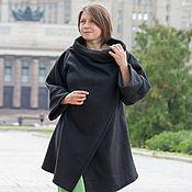 """Одежда ручной работы. Ярмарка Мастеров - ручная работа Легкое бохо-пальто """"Black"""". Handmade."""