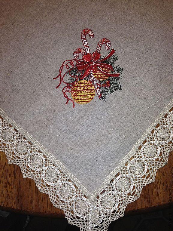 Белорусские скатерти с вышивкой