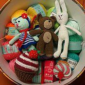 Куклы и игрушки ручной работы. Ярмарка Мастеров - ручная работа Амигуруми - любимые игрушки для малышей и их мам!. Handmade.