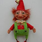 Куклы и игрушки ручной работы. Ярмарка Мастеров - ручная работа Игрушка на елку.. Handmade.