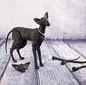 Куклы и игрушки ручной работы. Ярмарка Мастеров - ручная работа Шарнирный кот Ориентал из полиамида. 3D печать. шарнирная кукла БЖД. Handmade.