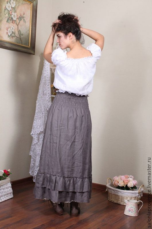 Льняная женская одежда доставка