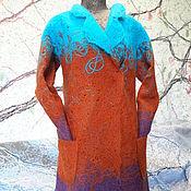 """Одежда ручной работы. Ярмарка Мастеров - ручная работа Пальто - кардиган """"Зной"""". Handmade."""