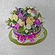 Букет из конфет  торт `Вечный праздник`. Букет ручной работы. Букет из конфет. Раина. Ярмарка мастеров. Букет конфет. торт из конфет