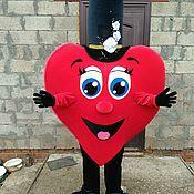 Дизайн и реклама ручной работы. Ярмарка Мастеров - ручная работа Ростовая кукла сердце. Handmade.