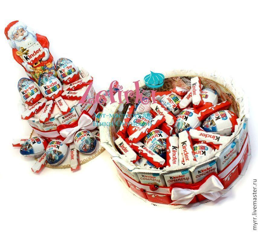 Подарки из киндеров для детей