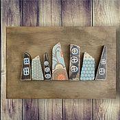 Картины и панно ручной работы. Ярмарка Мастеров - ручная работа Уезд. Handmade.