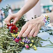 Подарки к праздникам ручной работы. Ярмарка Мастеров - ручная работа Мастер-класс по флористике на мероприятие. Handmade.