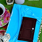 Подарки к праздникам ручной работы. Ярмарка Мастеров - ручная работа Блокнот Алиса в стране чудес. Handmade.
