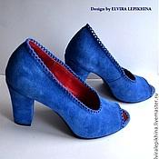 """Обувь ручной работы. Ярмарка Мастеров - ручная работа Туфли """"Anet"""". Handmade."""