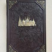 Сувениры и подарки handmade. Livemaster - original item The book is about Kazan. Tatarstan (leather gift book). Handmade.
