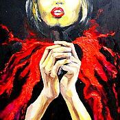 Картины и панно ручной работы. Ярмарка Мастеров - ручная работа картина акрилом СВЕТ. Handmade.