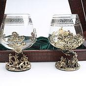 Сувениры и подарки handmade. Livemaster - original item Cognac set