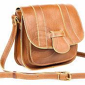 Сумки и аксессуары handmade. Livemaster - original item Womens leather handbag Milan brown. Handmade.
