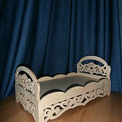 Куклы и игрушки handmade. Livemaster - original item Doll crib No. 1237. Handmade.