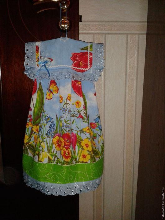 Для дома и интерьера ручной работы. Ярмарка Мастеров - ручная работа. Купить Полотенце - Платье в стиле Шебби-шик. Handmade.