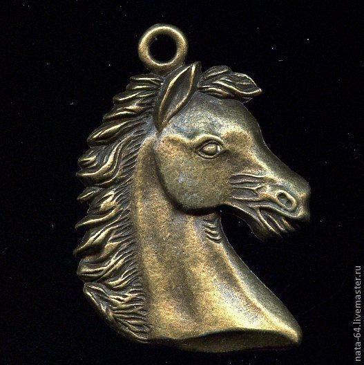 Для украшений ручной работы. Ярмарка Мастеров - ручная работа. Купить Голова лошади. Handmade. Украшения ручной работы