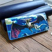 """Кошельки ручной работы. Ярмарка Мастеров - ручная работа Кошелек кожаный """"Дракон"""". Handmade."""